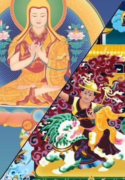 Je Tsongkhapa Dorje Shugden