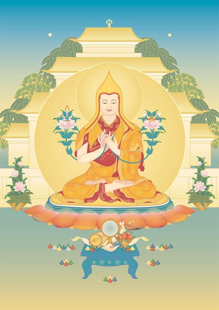 Je Tsongkhapa - Kadampa Lineage Guru