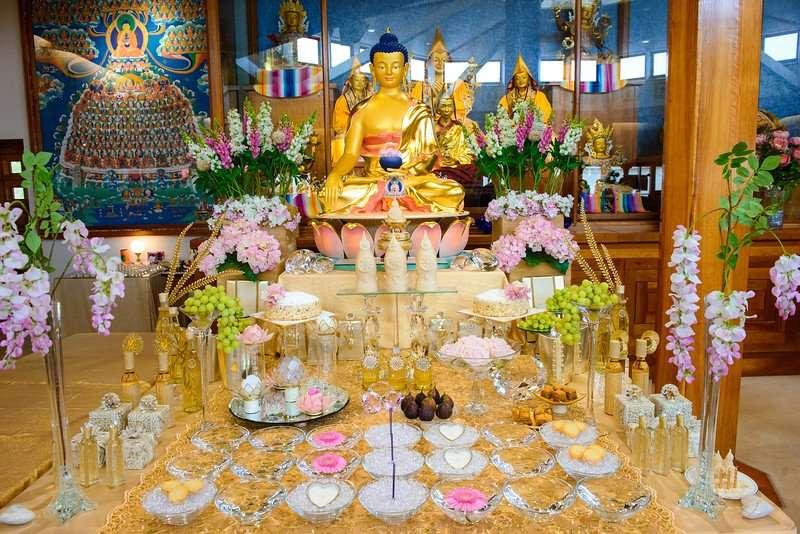 Buddha Shakyamuni empowerment at festival - about Tantra