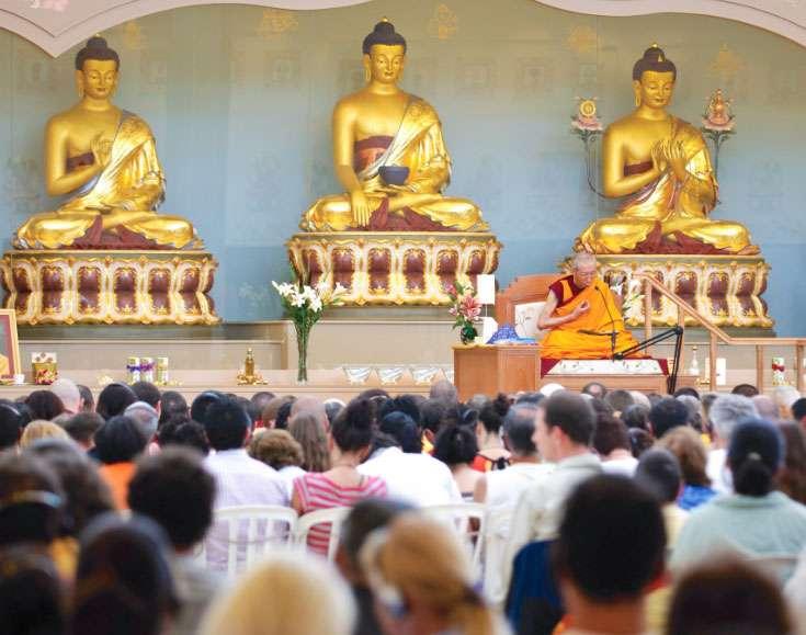 Geshe Kelsang Gyatso teaching in Brazil - about Buddha