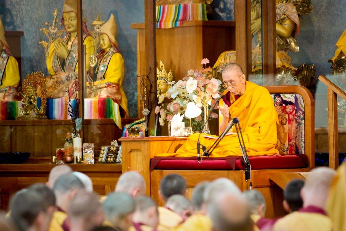 Geshe-la teaching - the four noble truths